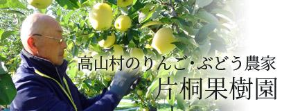 高山村のりんご・ぶどう農家 片桐果樹園